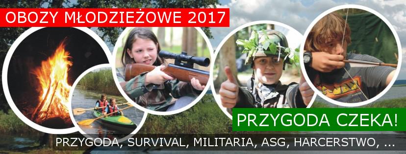Obozy młodzieżowe 2017